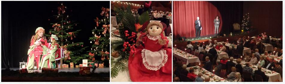 Senioren Weihnachtsfeier 2015, Stadthalle Oberursel