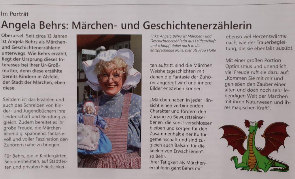Stadtjournal Oberursel mit Steinbach vom 11. Oktober 2020