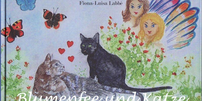Blumenfee und Katze